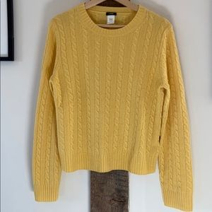 Super Soft Cashmere Blend Cable Knit Sweater